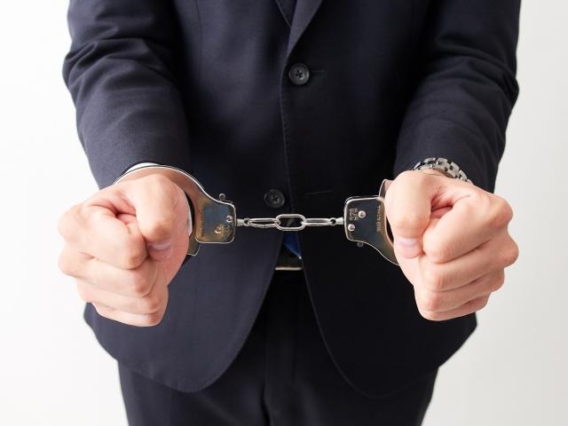 古物商無許可営業で逮捕
